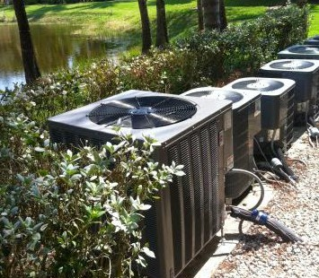 Landscaping Around Air Conditioning Unit