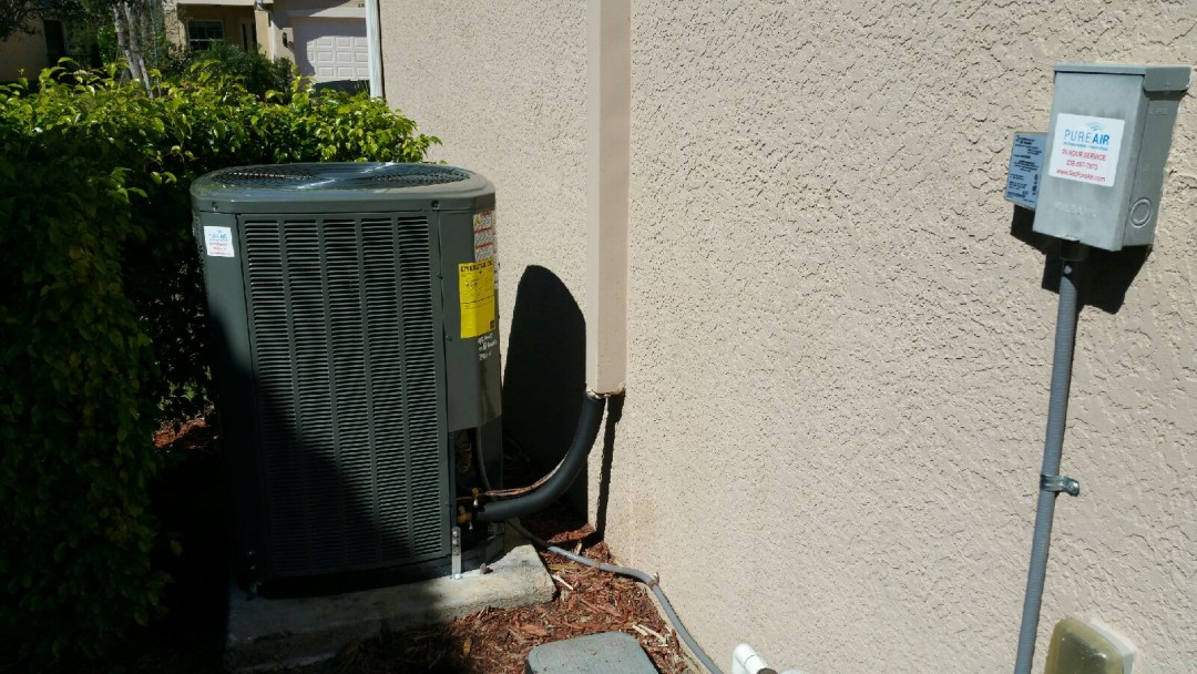 naples air conditioning repair service call