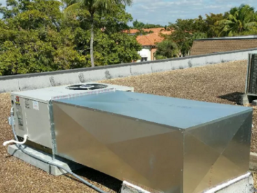 AC Roof Unit Installation in Naples