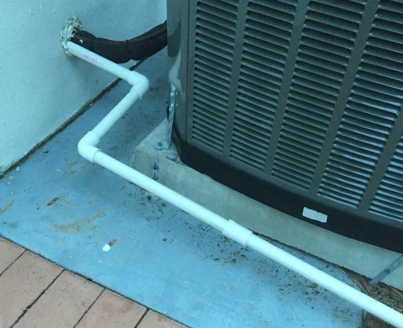 air conditioner drain line