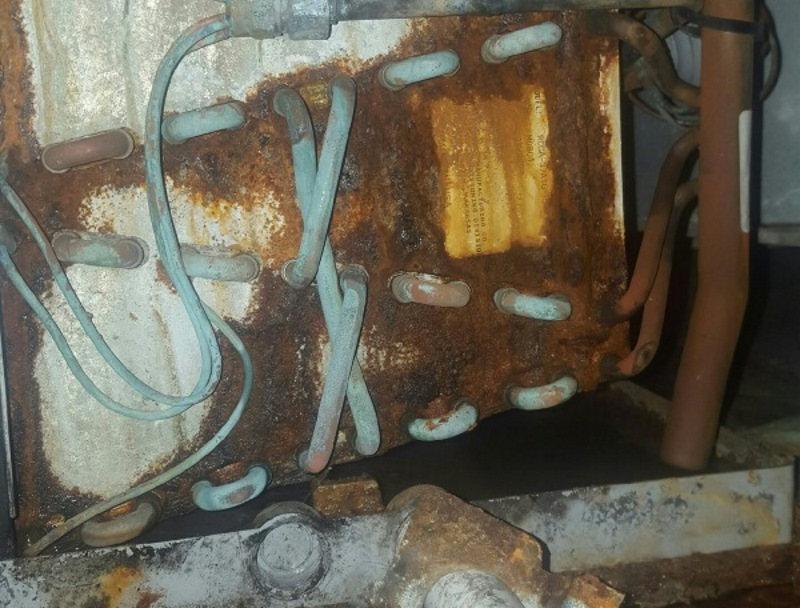 air handler formicary corrosion