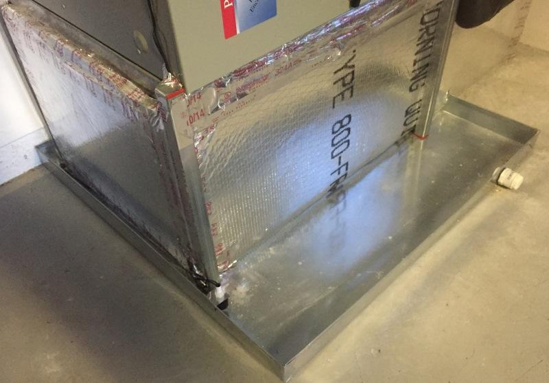 drain pan air conditioner