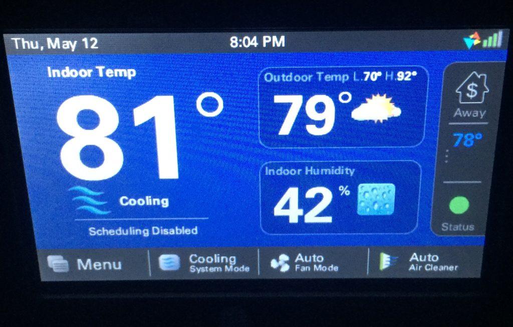 ac system thermostat