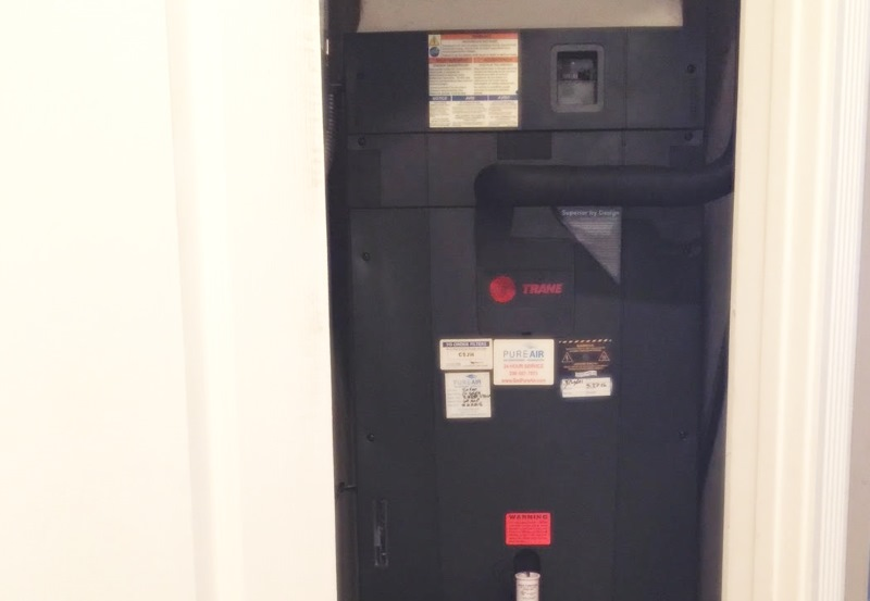 Trane XR14 AC System Installation in Naples