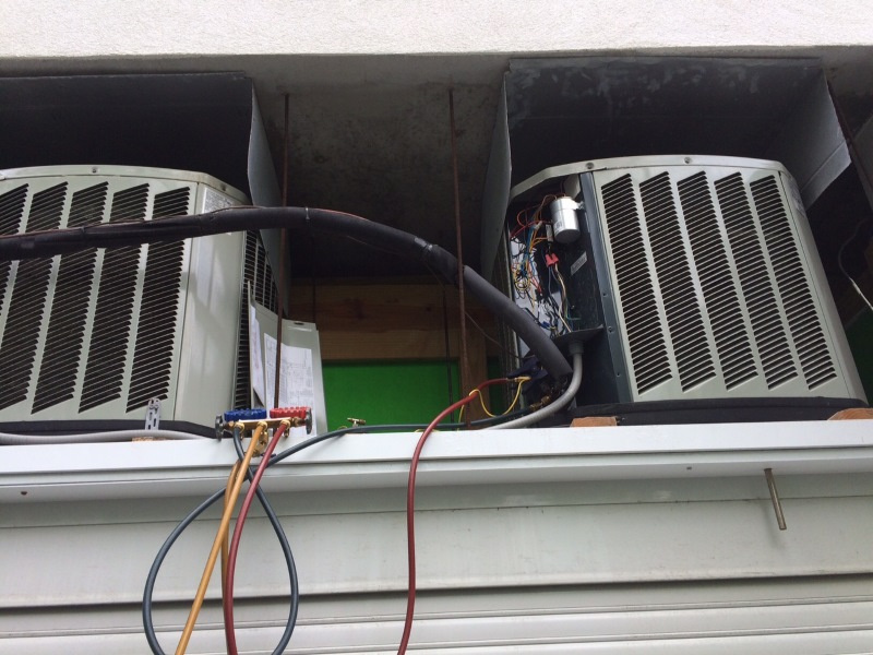 condensing unit ac repair naples
