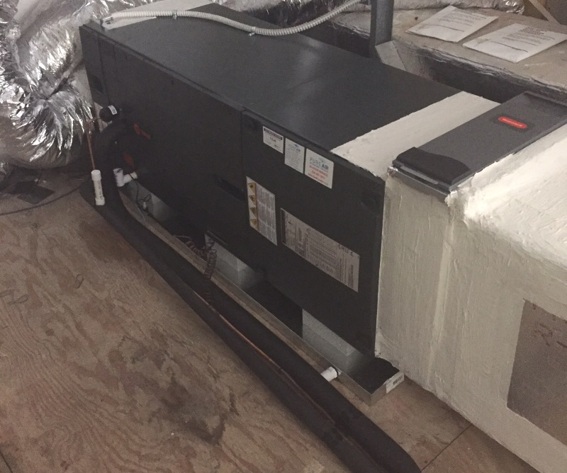 trane air handler replacement
