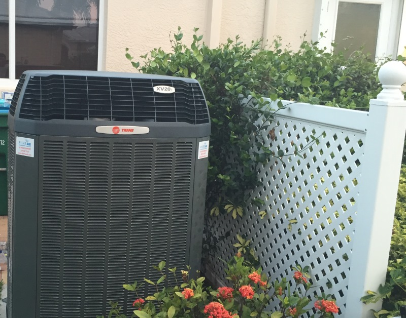 Trane XR16 Condenser, Tem6 Variable Speed Install
