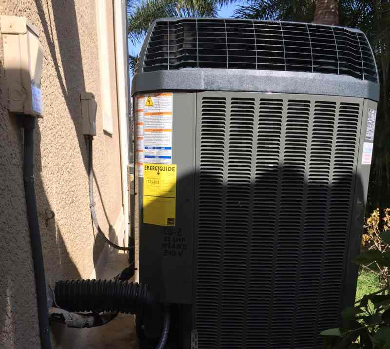 ac condensing unit repair replacement