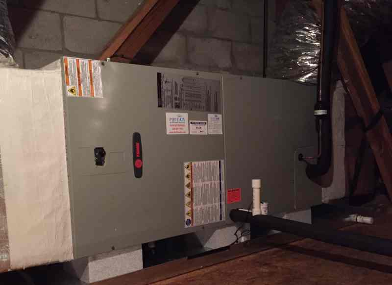 tem6 variable speed air handler installation naples