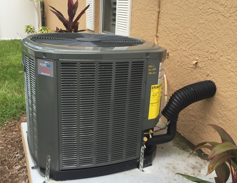 New Central Air Conditioning System