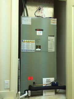 Trane Air Handler In Closet Installation Naples Fl
