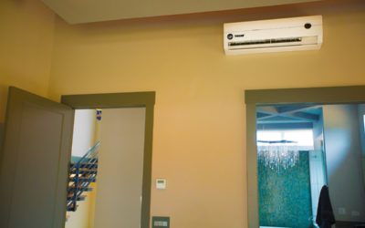 Trane Ductless AC System Installation