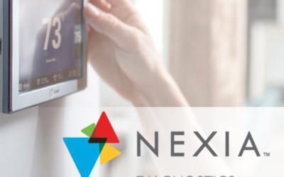 Trane Control With Nexia Diagnostics
